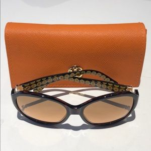 Tory Burch woman's brown sunglasses TY9029